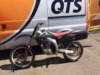 HONDA CRF 450 sell or swap for car or van or 125 or 250