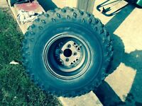 Polaris rim & tire