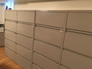 Top of the Line Steelcase Filing Cabinets- Delivery Available