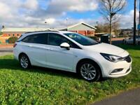 2019 Vauxhall Astra 1.6 CDTi 16V ecoTEC Design 5dr ESTATE Diesel Manual