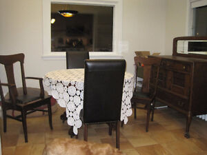 Beautiful Table, Chairs and Side board