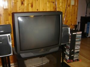 25 inch Prima color TV with remote controller