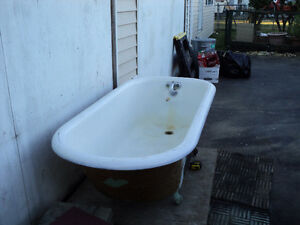 Claw Foot Tub - cast iron