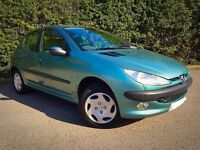 Sale/Swap DIESEL : Peugeot 206 LX HDI! ( 90 BHP ) 64 MPGs! MOT 03/17! BARAGIN!