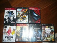 I am selling ps2 with 2 joystik, memory card (8MB magic gate), a