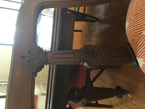 Antique dining chairs (set of 6)