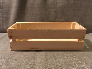 11 Wooden Crates Available