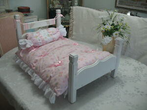 """Doll Bed 30"""" X 17"""" & 16"""" heigh."""