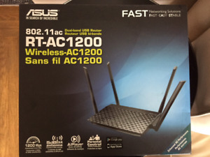 ASUS RT-AC 1200 Wireless Dual Band USB Router