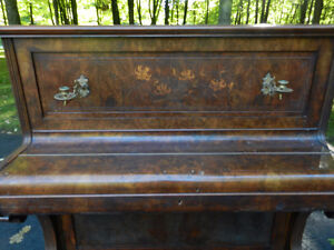 ANTIQUE PARLOUR PIANO