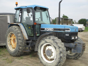 Ford 7840 Tractor SLE