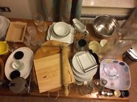 Mixed kitchen items - good quality and full use - fully equipped kitchen!
