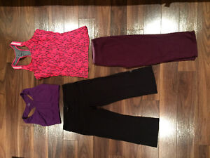 Active wear / workout clothing lot