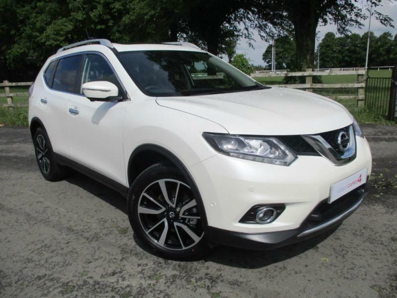 2017 17 nissan x trail 1 6 dci diesel 4x4 7 seat tekna. Black Bedroom Furniture Sets. Home Design Ideas