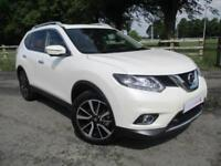 2017 17 Nissan X-Trail 1.6 dCi Diesel 4X4 7 Seat Tekna Manual with Navigation