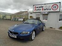 2006 BMW Z4 SI SPORT ROADSTER CONVERTIBLE 2.5L 215 BHP - ONLY 92,624 MILES