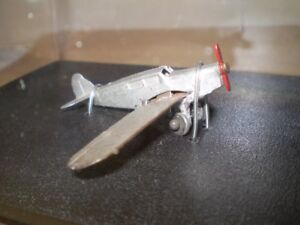 Dinky Toys Airplane, 1936-1941, and Copter, 1950s
