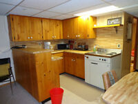 Available August 1st Furnished one-bedroom basement suite