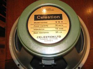 CELESTION Heritage G12H (55Hz), 16ohm