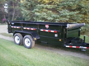 SAVE NOW on P.J. Dump Trailers with a $250.00 VISA Gift Card