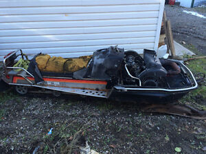 80's Yamaha Enticer Longtrack for parts