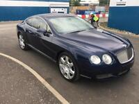 "BENTLEY CONTINENTAL 6.0 GT 2 DOOR MULLINER 2007 ""07"" REG 207,000 MILES F.B.S.H."