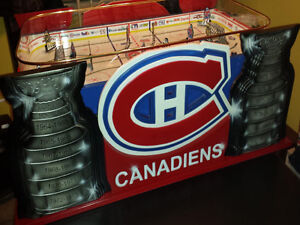LNH JEU DE HOCKEY TABLE BOARD COLECO GAME ROOM MONTREAL QUEBEC West Island Greater Montréal image 3