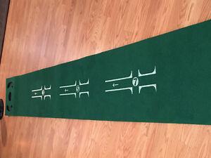 Putting practice mat