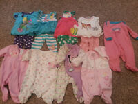 0-3 month girl clothes