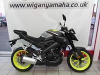 YAMAHA MT-125 ABS 125cc 2018 MODEL in Night Fluo, Yamaha Blue or Tech Black...