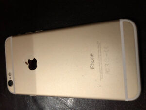 Cellulaire iPhone 6  64Go gold 514-562-3721