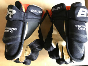 "Youth 8"" Bauer Supreme One.4 Gloves"