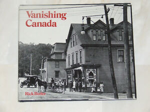1980 picture book: 'Vanishing Canada' -- old-time photographs