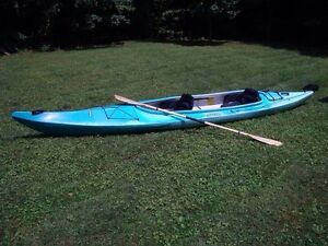 Clearwater design kayak blue tandem double cobourg