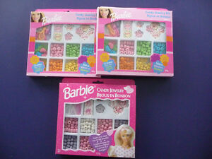 New Barbie Candy Jewellery - 3 Boxes