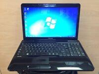 Toshiba i5 Fast HD Laptop, (Kodi) 1TB, 4GB Ram, HDMi, Windows 7, Microsoft office, Good Condition