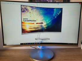 "Samsung 27"" Curved Monitor CF591"