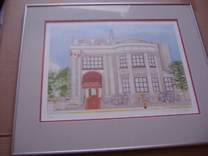 Royal Canadian Military Institute Print (reduced price)