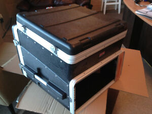 Amp cases / processing / Powered monitors for sale
