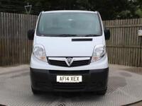 Vauxhall Vivaro 2700 Cdti P/V Tecshift Panel Van 2.0 Semi Auto Diesel