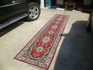 Vintage Persian Rug Runner 148 ins long x 32 ins Wide.