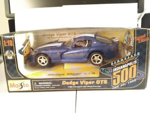Maisto 1996 Dodge Viper GTS Indy 500 Official Pace Car