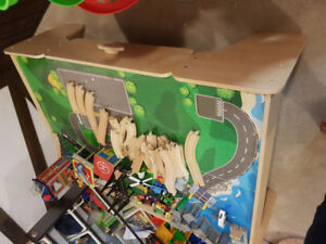 Childrens train table