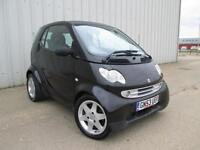 SMART CAR 0.7 PULSE BLACK 50,000 MILES
