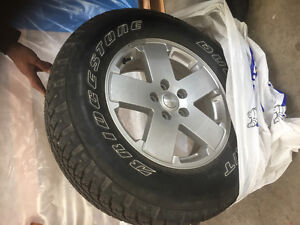 Five Brand New Jeep Wrangler Tires & Rims