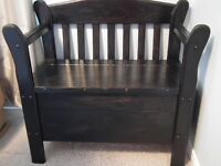 Hand crafted pine bench