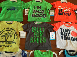 New! Osh Kosh and carters tshirts and tanks size 3 months Kitchener / Waterloo Kitchener Area image 1