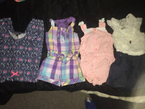 Baby girl 2T summer clothes