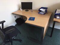 Two corner desks for sale