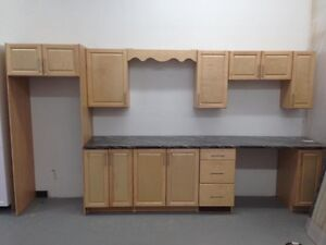 Complete NEW kitchen with maple wood doors